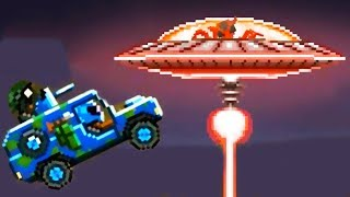 ALIEN SHIP BOSS ALIENS ATTACK! - Drive Ahead! Missions 2018 / Funny Game for Kids