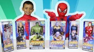Marvel Avengers Infinity War Superhero toys