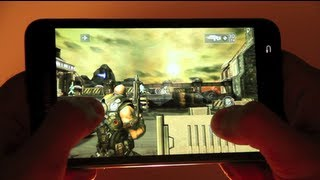 TOP 5 ANDROID GAMES 2012 : SAMSUNG GALAXY NOTE GAMES