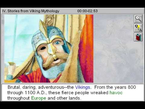 Stories from Viking Mythology (African, Arabic, Celtic and Norse Mythologies Part 4)