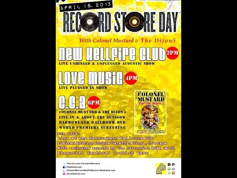 Colonel Mustard & The Dijon 5 - Record Store Day 2015 (HD)