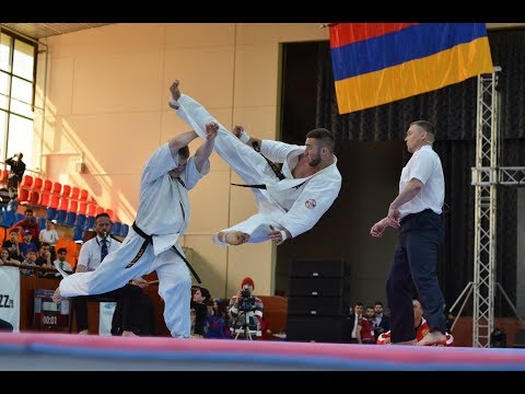 Kyokushin Karate European Championship 2018 in Armenia