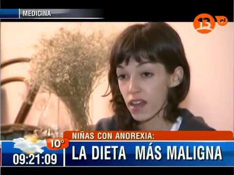 Niñas Con Anorexia: La Dieta Más Maligna / Bienvenidos