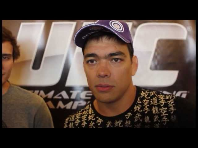 UFC's Lyoto Machida Talks Steven Seagal, Ryan Bader and Glover Teixiera - UFC on FOX 4