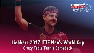 Epic Table Tennis Comeback