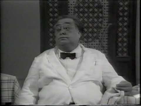 Aldo Fabrizi Il Cameriere prima parte - Speciale per Noi 1971