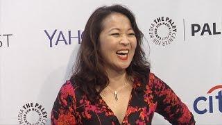 Suzy Nakamura // Dr. Ken PaleyFest 2015 Fall TV Preview Purple Carpet Arrivals