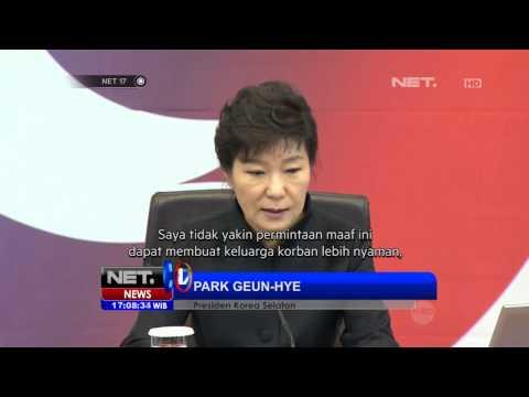 NET17 - Presiden Korea Selatan meminta maaf pada rakyatnya atas tragedi Kapal Sewol