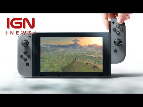 The Nintendo NX Has an Official Name: Nintendo Switch - IGN News