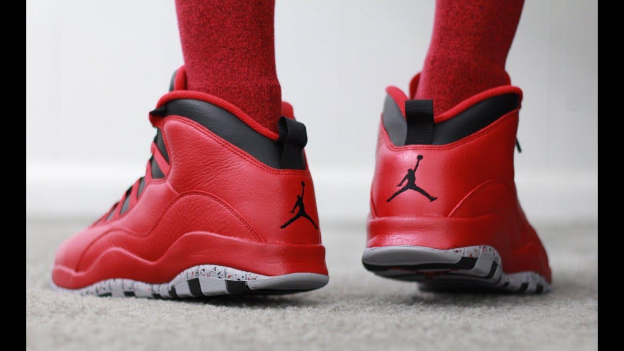 Air Jordan 10 Bulls Over Broadway Air Jordan 10 Retro Bulls