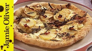 Pizza Bianco with Rosemary & Pancetta | Jamie Oliver