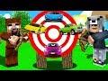 HEDEFİ VUR ARABAYI AL! 😱 - Minecraft