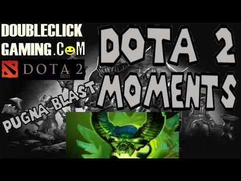 Dota 2 Moments - Pugna Blast