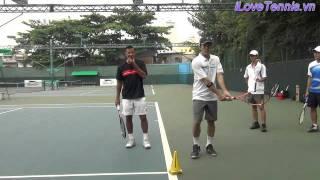 HLV Trương Quang Vũ hướng dẫn Chỉnh sửa động tác Tennis Phần 5
