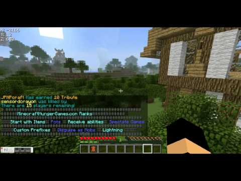 Best Minecraft HungerGames Server (with I.P address)