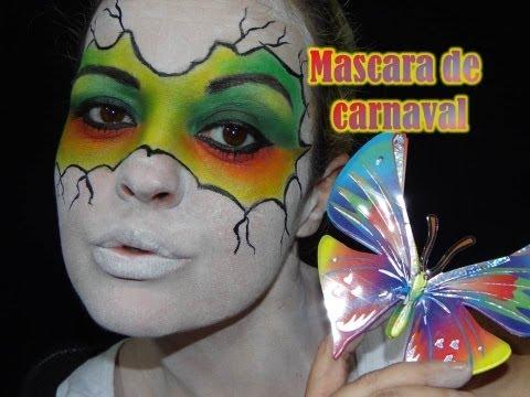 MASCARA DE CARNAVAL - POR RENATA MONTEIRO