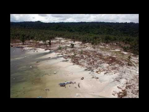 Indonesia Tsunami Mentawai Islands October 2010