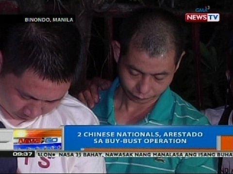 NTG: 2 chinese nationals, arestado sa buy-busy operation