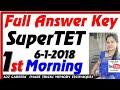 Lagu Super TET 6 Jan 2019 Full Answer Key UP assistant teacher  Sahayak Adhyapak