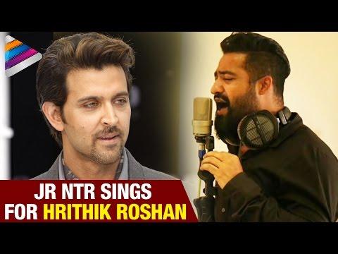 Jr Ntr to Sing for Hrithik Roshan   Vishal and Shekar New 2016 Hindi Pop Album   Telugu Filmnagar