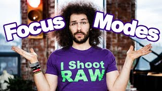 Cameras Focus Modes Explained: When to Use Continuous Auto Focus, Single Auto Focus or Manual Focus