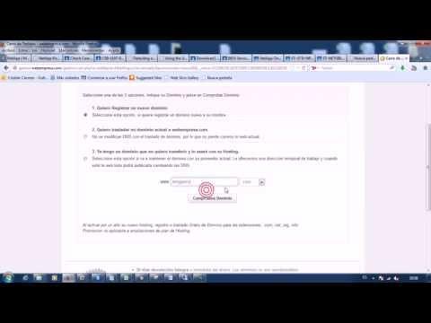 Como crear un sitio web en webempresa