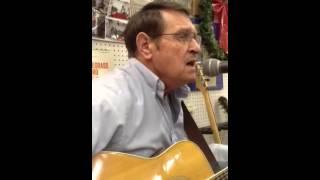 Watch George Jones Silent Night video