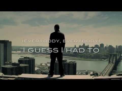 Eminem - Not Afraid (lyrics) video