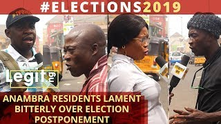 Some of our people traveled for this election, Anambra residents lament| Legit TV