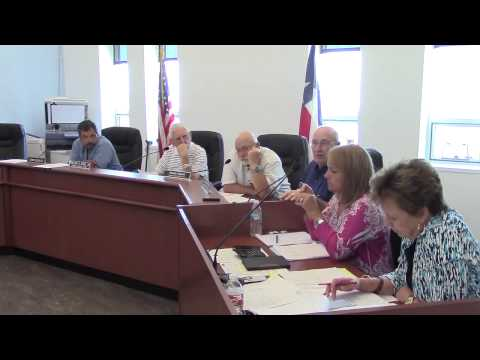 Karnes County Commissioners Court - July 20, 2015 - Part 1 of 2