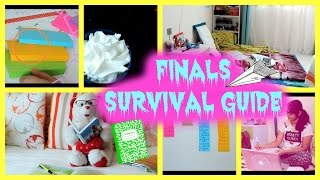 Finals survival guide + How to ace them | 2015