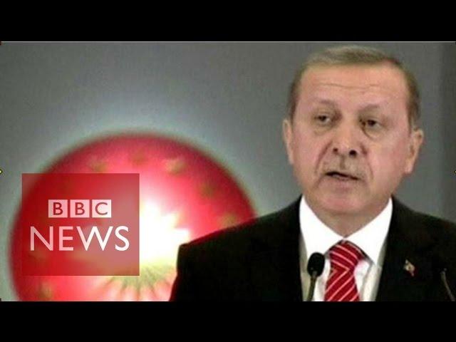 Turkey's President Erdogan defends downing of Russian warplane - BBC News