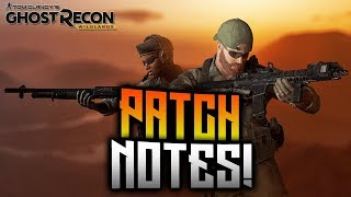 Ghost Recon Wildlands - September Update Patch Notes! New PvE Feature, Weapons, Cosmetics, and MORE!