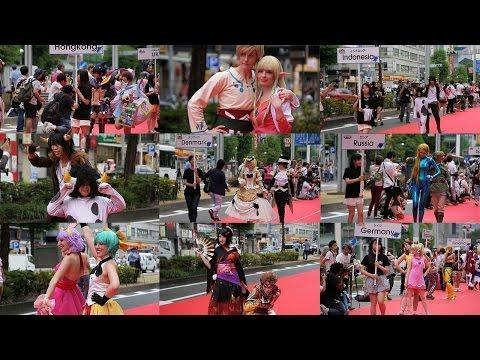世界コスプレサミット2014 錦通レッドカーペット