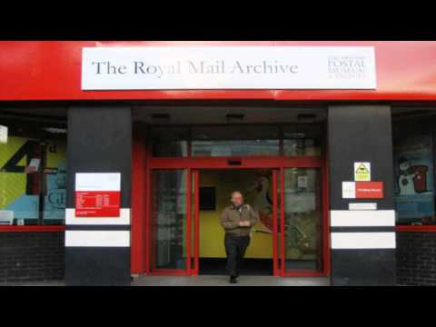 British postal museum archive Islington London