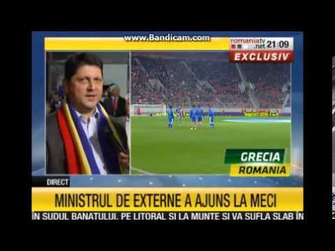 http://www.putinaemotie.ro/ Grecia-România, meciul de baraj pentru calificarea la campionatul mondial din Brazilia, a fost transmis de România TV, televiziun...