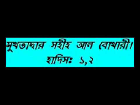 Bangla Waz New Mukhtasar Sahih Al Bukhari Hadis Part 01