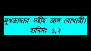 Bangla Waz New Mukhtasar Sahih Al Bukhari Hadis Part 01