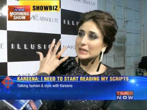 Talking fashion & style with Kareena Kapoor