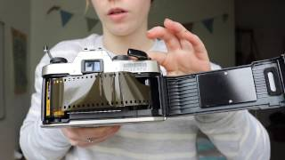 HOW TO LOAD A 35MM FILM CAMERA!