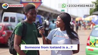 Someone from ICELAND is an ....? Street Quiz  Funny Videos