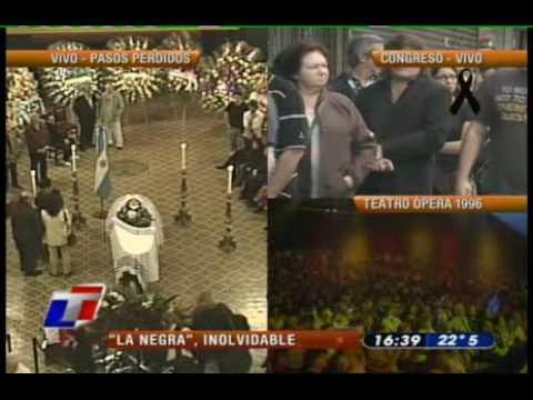 Mercedes Sosa - canci�n y huayno homenaje a mercedes sosa por mar�a teresa g�mez