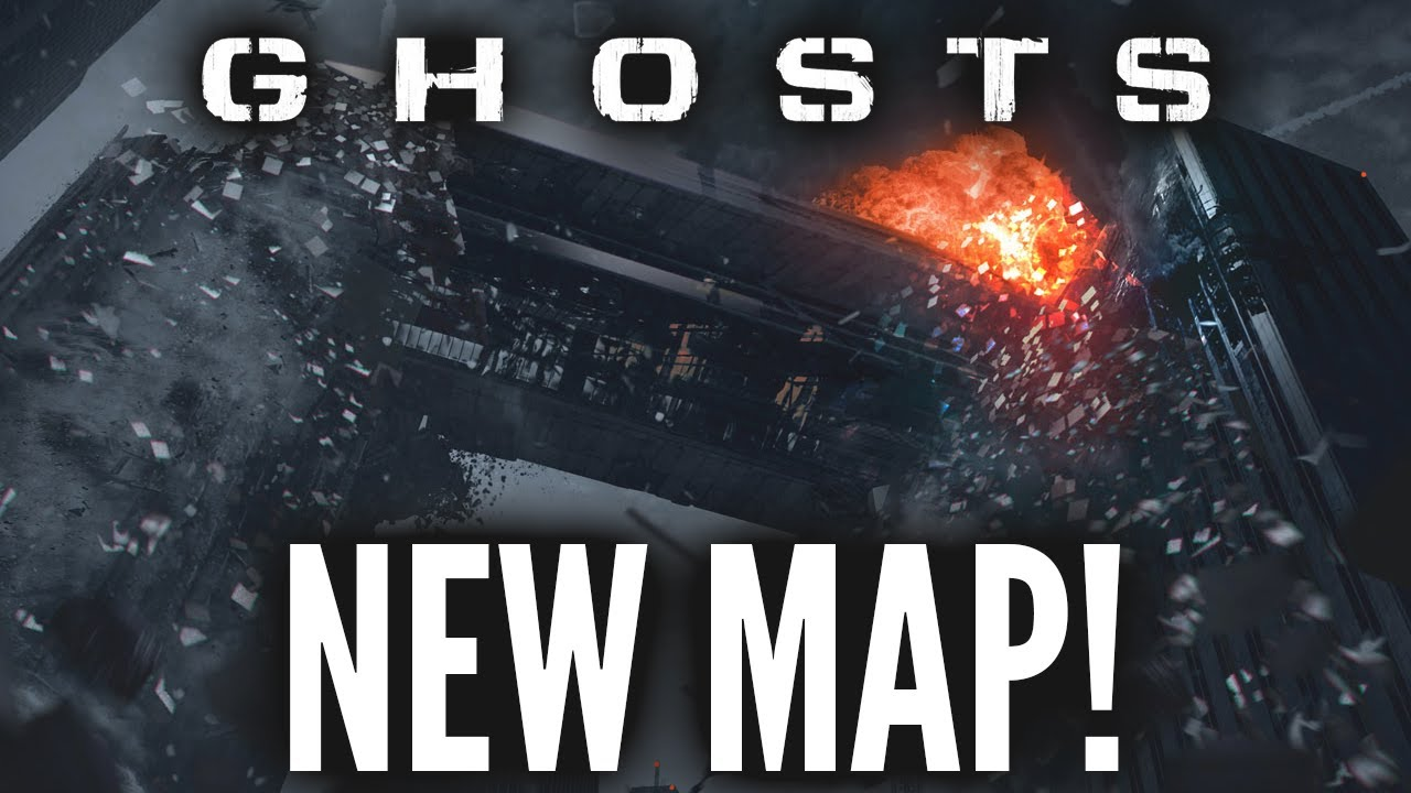 Call Of Duty Ghosts Maps Free Fall NEW COD Ghosts Dynamic Map Pre Order Xbox One PS4 YouTube