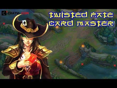 Những pha xử lí ảo diệu của cao thủ Twisted Fate