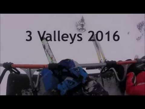 La Tania / 3 Valleys Skiing January 2016