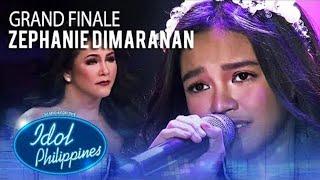 Zephanie Dimaranan - Maghintay Ka Lamang (Top 3) #IdolPHGrandWinner