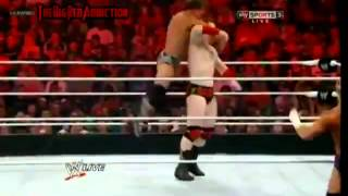 Rey Mysterio,Sheamus and Sin Cara vs Alberto, Chris Jericho and Dolph Ziggler