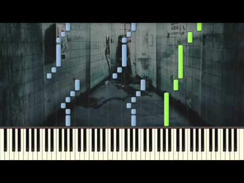 Saw Theme (by Hello Zepp) - Piano tutorial (Synthesia)