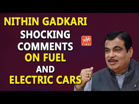 Union Minister Nithin Gadkari Shocking Comments On Fuel And Electric Cars..!!  | Petrol | YOYO Times
