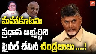 Chandrababu Naidu Has Suggested That Deve Gowda for Prime Minister Candidate